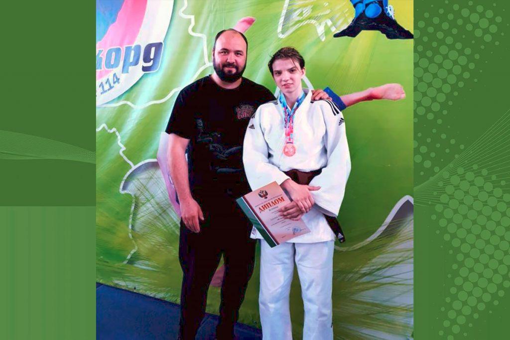 Иркутская дзюдоистка завоевала бронзовую медаль на чемпионате России