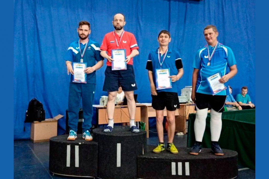 Алексей Самсонов выиграл золотую медаль Кубка России по настольному теннису среди лиц с ПОДА
