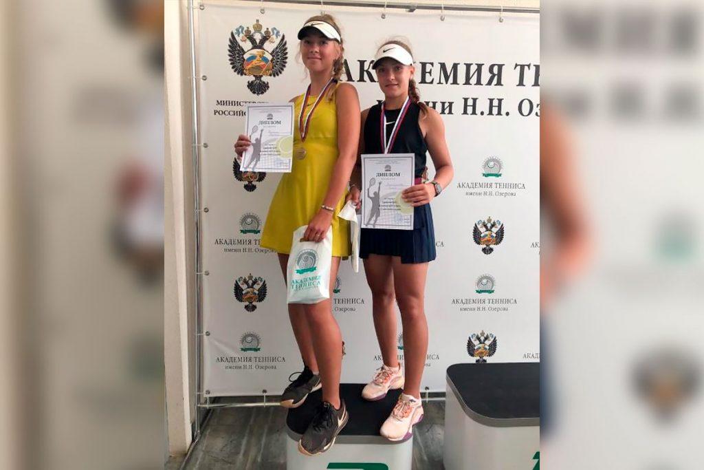 Алиса Зиатдинова стала серебряным призёром открытого первенства ЦФО по теннису