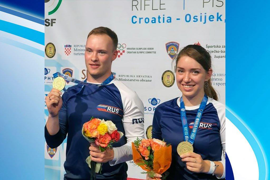 Иркутянин Артём Черноусов завоевал золотую медаль на Кубке мира по пулевой стрельбе