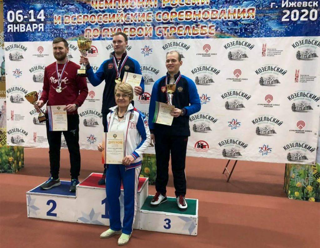Артём Черноусов занял первое место на чемпионате России по стрельбе из пневматического оружия