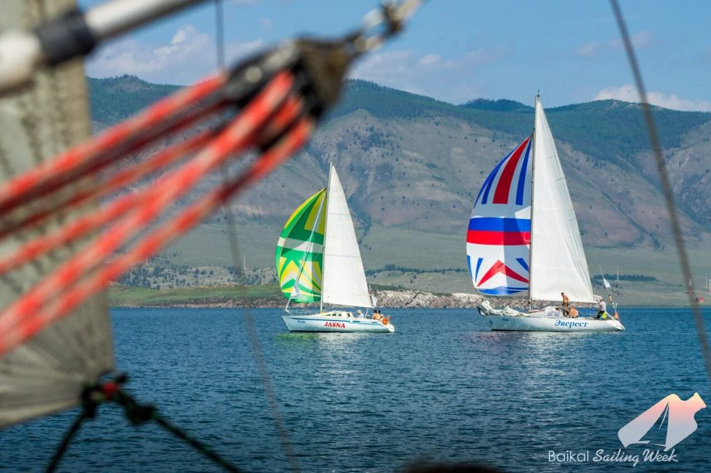 На Байкале прошли межрегиональные парусные соревнования