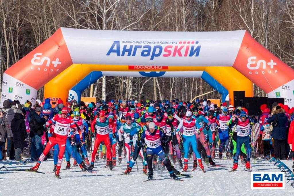 Антон Шевченко из Красноярска первым преодолел марафонскую дистанцию на «Стройкомплекс БАМ Ангарский марафон»