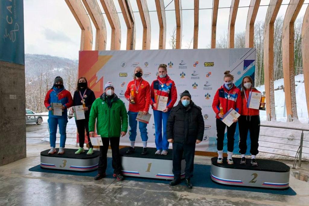 Братчанка Вера Серышева стала бронзовым призером первенства России по бобслею