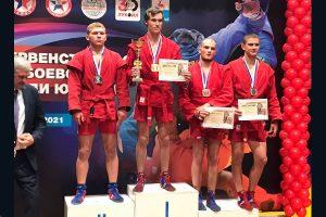Единоборец Руслан Тарасов стал обладателем бронзовой медали на первенстве России по боевому самбо