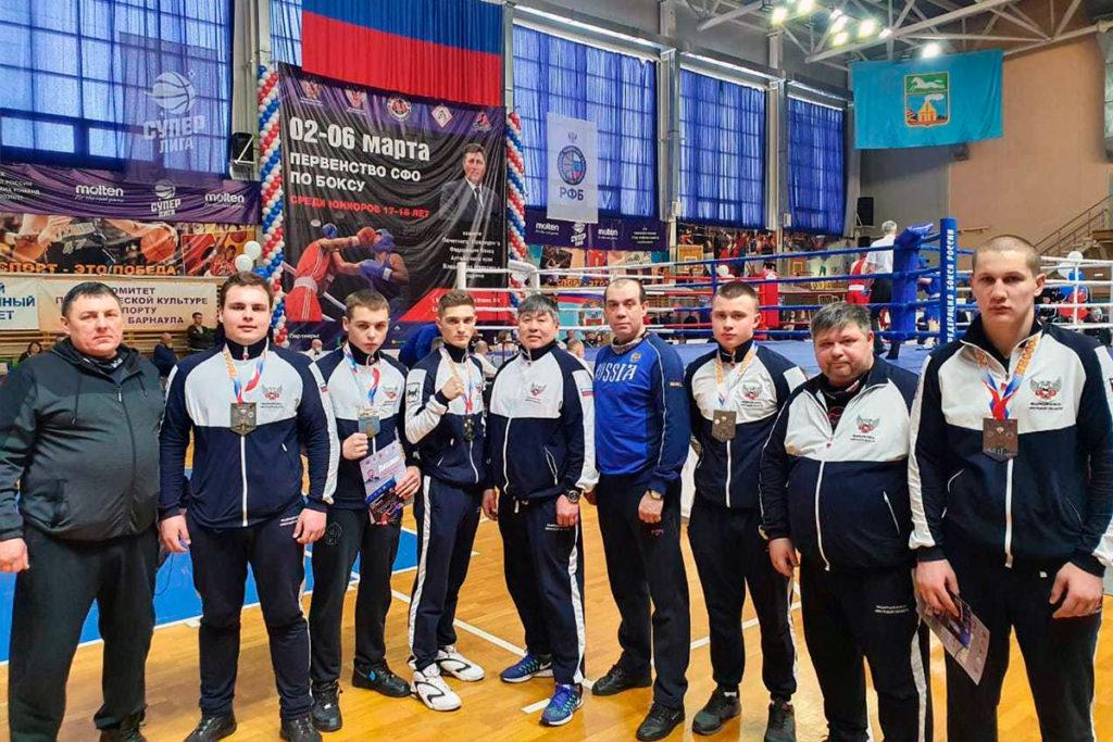 Боксёры Иркутской области выиграли пять медалей на первенстве Сибири