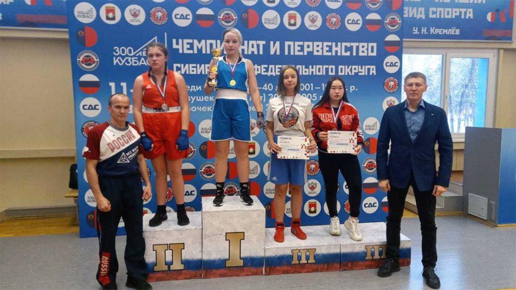 Спортсменки из Приангарья завоевали 24 медали на чемпионате и первенстве СФО по боксу