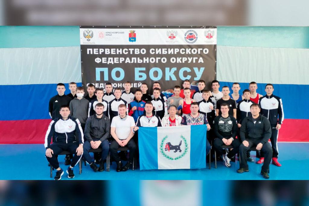Сборная Приангарья заняла первое место на первенстве СФО по боксу среди юношей 15-16 лет
