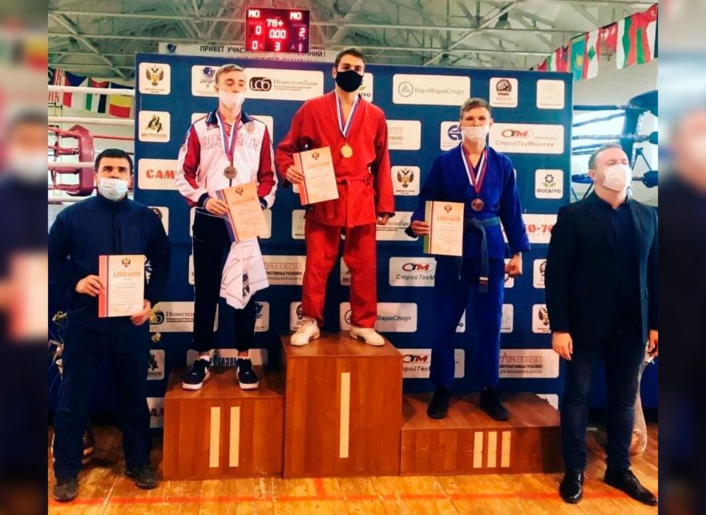 Борис Клинов стал бронзовым призером чемпионата России по универсальному бою