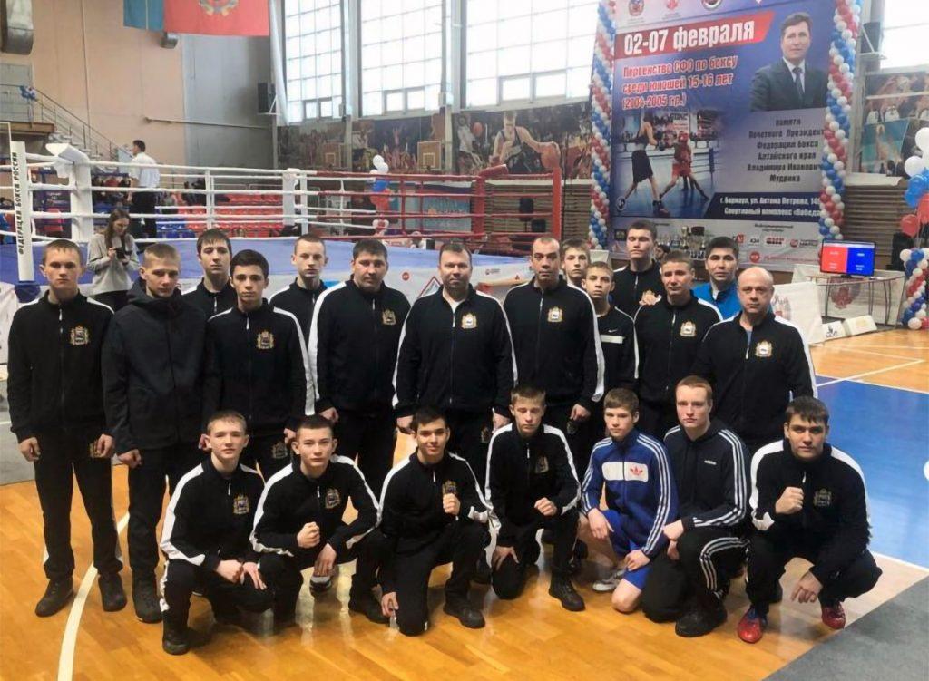 10 медалей выиграли боксёры из Иркутской области на первенстве СФО в Барнауле