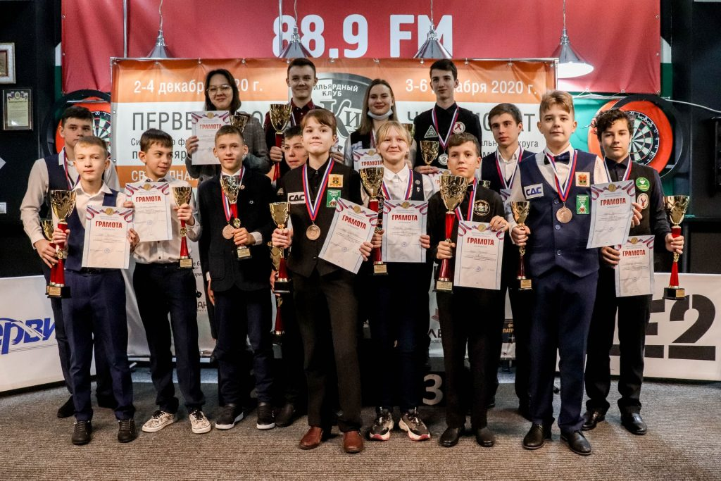 Восемь медалей завоевали спортсмены Иркутской области на чемпионате и первенстве СФО по бильярду