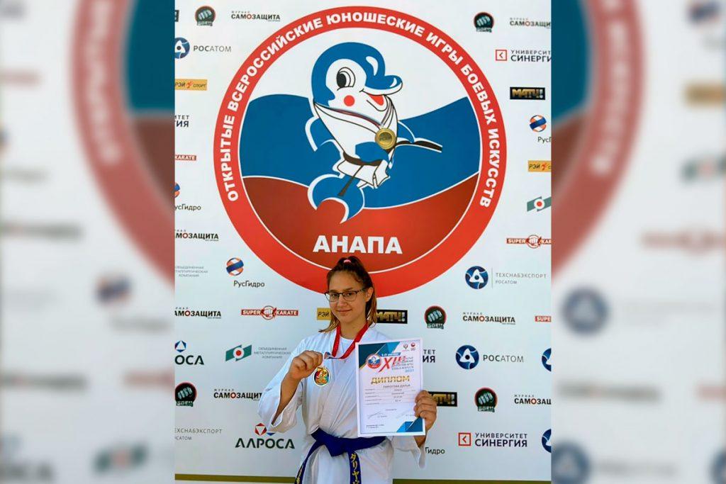 Дарья Пирогова одержала победу на XIII Всероссийских юношеских играх боевых искусств