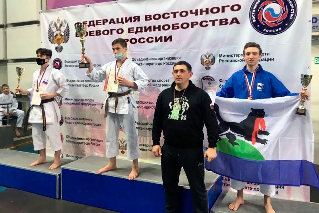 Денис Гукалов стал бронзовым призёром первенства России по восточному боевому единоборству
