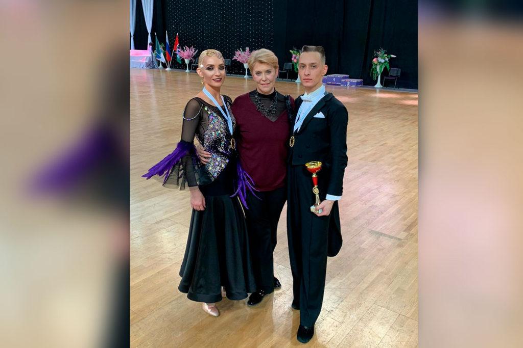 Дмитрий Портнов и Юлия Варфоломеева стали бронзовыми призёрами чемпионата СФО по танцевальному спорту