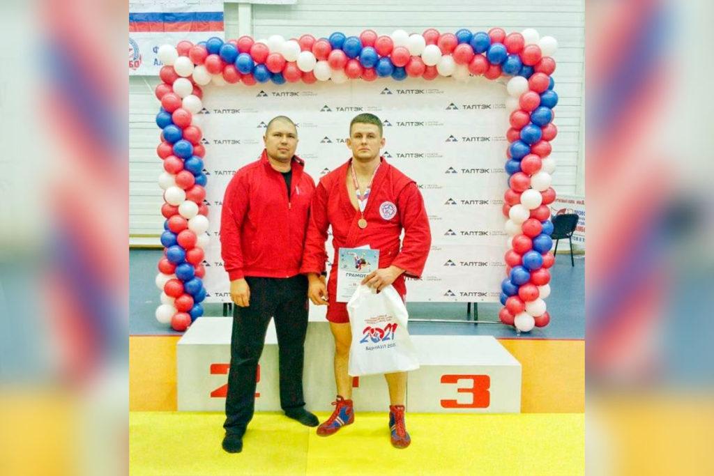 Братчанин Дмитрий Земсков занял третье место на всероссийских соревнованиях по самбо в Барнауле