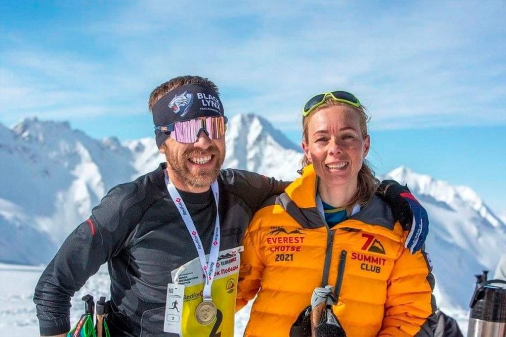 Иркутянка установила мировой рекорд при восхождении на Эльбрус