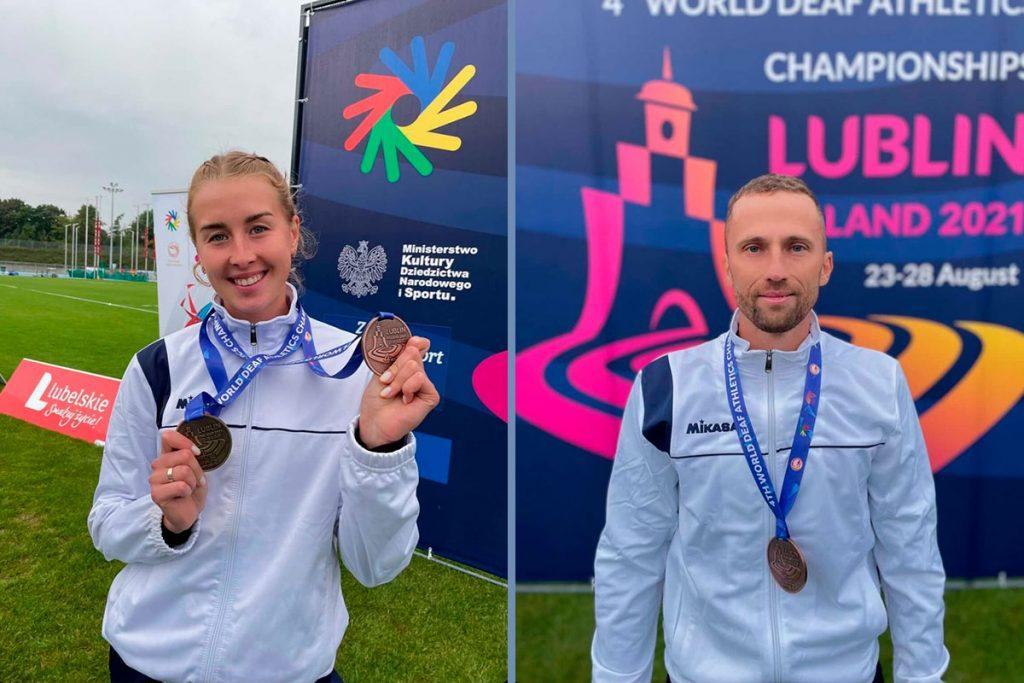 Ещё две медали выиграли легкоатлеты Иркутской области на чемпионате мира по спорту глухих