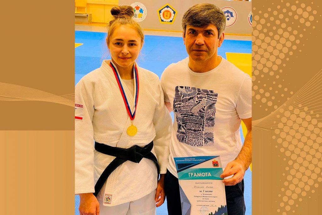 Семь медалей привезли борцы Приангарья с чемпионата СФО по дзюдо