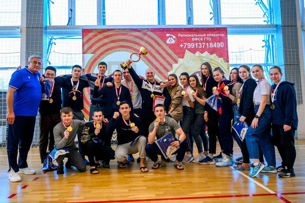 Более 150 студентов Иркутской области приняли участие в Зимнем фестивале ВФСК ГТО