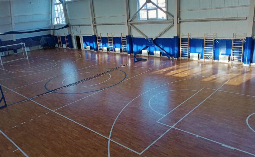 Завершено строительство физкультурно-оздоровительного комплекса в селе Урик