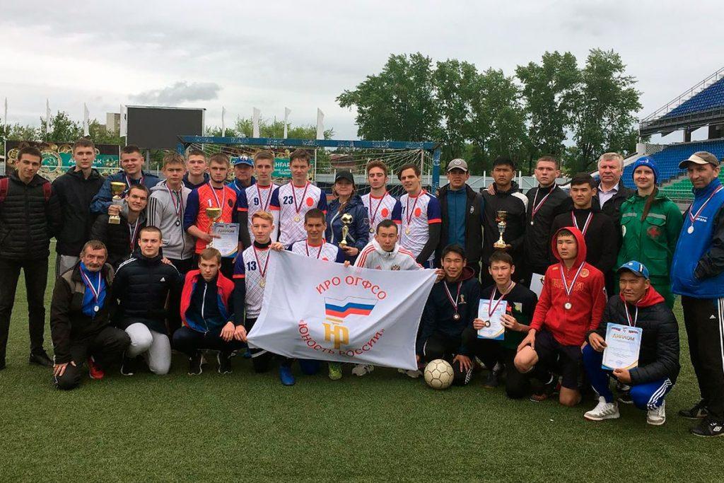Футболисты Ангарского политехнического техникума победили на «Кубке Победы»