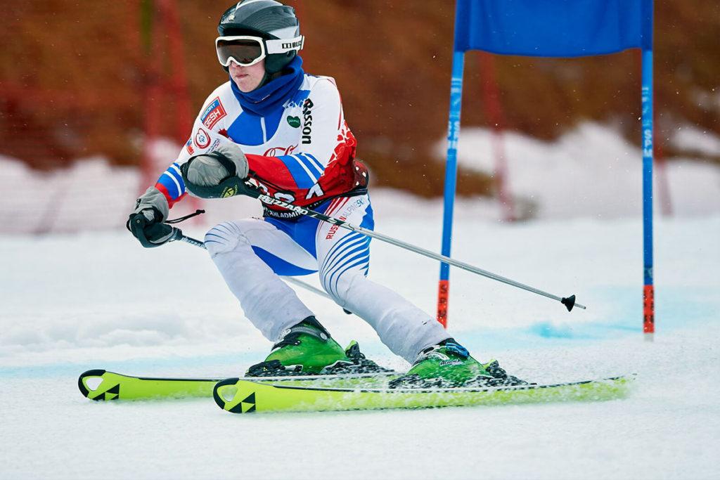 В Шелеховском районе прошел этап Всероссийской Спартакиады Специальной Олимпиады по горнолыжному спорту