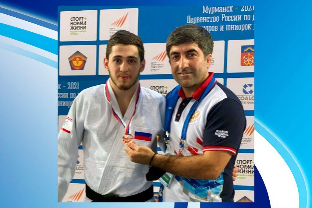 Иркутский дзюдоист Хетаг Басаев завоевал бронзовую медаль на первенстве России