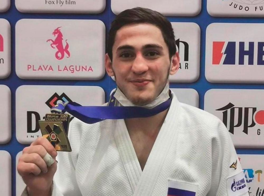 Хетаг Басаев победил на первенстве Европы по дзюдо среди юниоров до 21 года в Хорватии