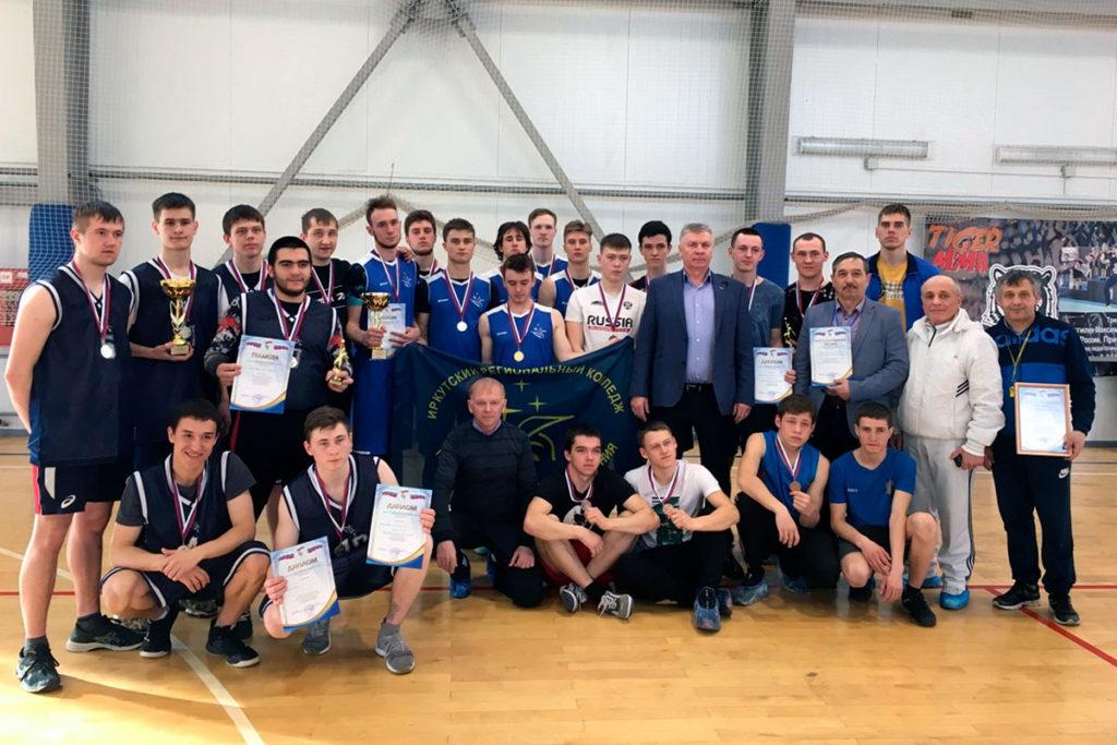 Команда ИРКПО одержала победу на первенстве области по баскетболу среди профессиональных образовательных организаций