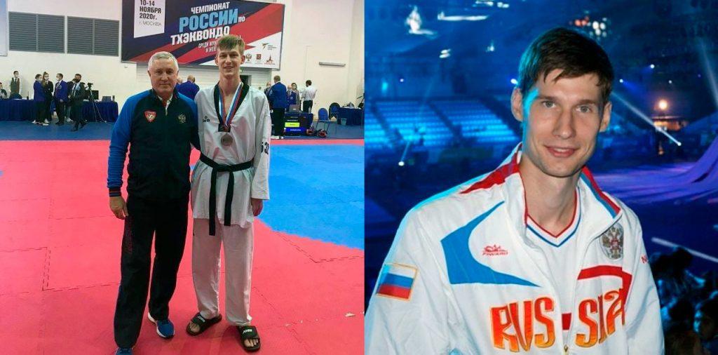 Иван Морозов и Роман Кузнецов стали бронзовыми призёрами чемпионата России по тхэквондо