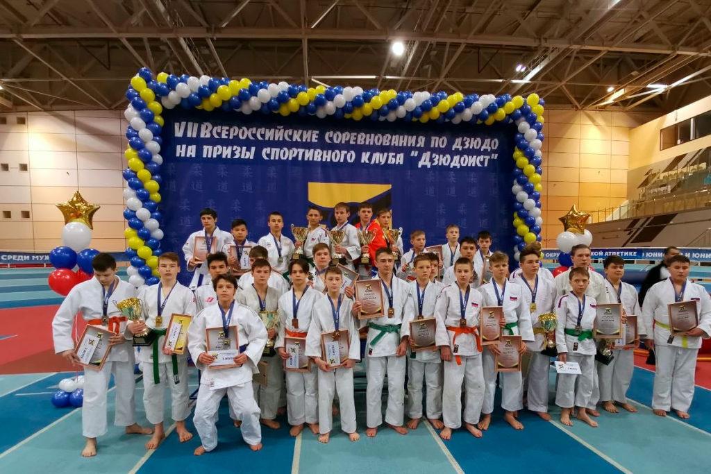 Спортсмены Приангарья успешно выступили на VII всероссийских соревнованиях по дзюдо