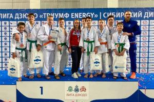 Команда иркутского спортклуба «Дзюдоист» заняла третье место в финале сибирского дивизиона Детской лиги дзюдо «Триумф Energy»