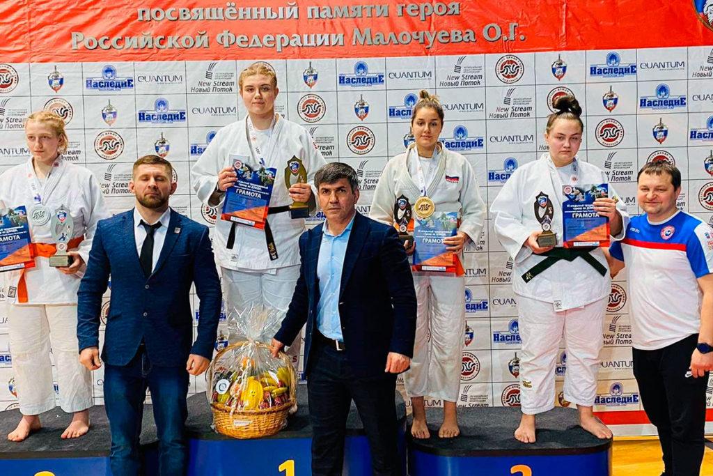 Четыре медали завоевали дзюдоисты Иркутска на открытом турнире в Подольске