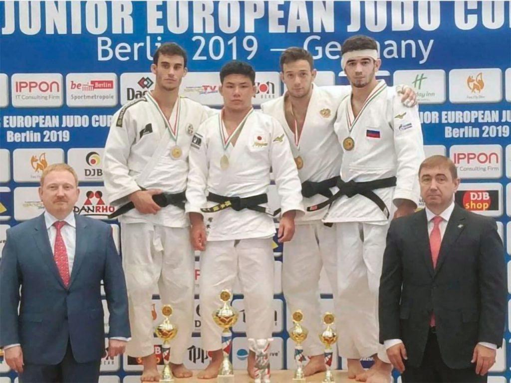 Иркутский дзюдоист завоевал «бронзу» на Кубке Европы в Берлине