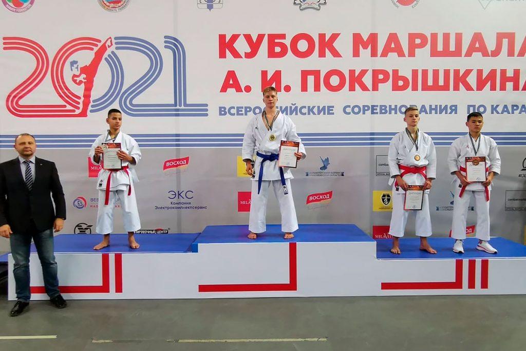 Шесть медалей завоевали спортсмены Приангарья на XVIII всероссийских соревнованиях по каратэ