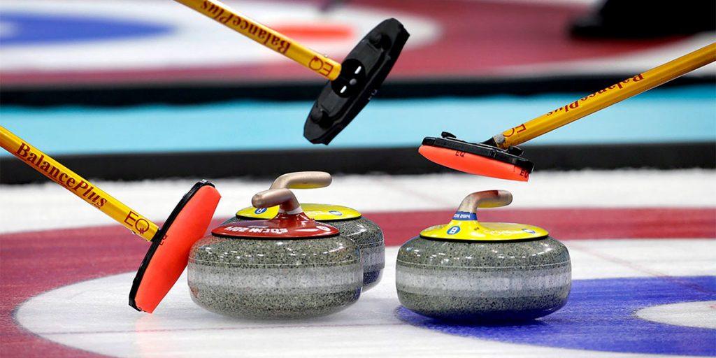Спортсмены Приангарья стали призёрами чемпионата России по кёрлингу среди смешанных пар