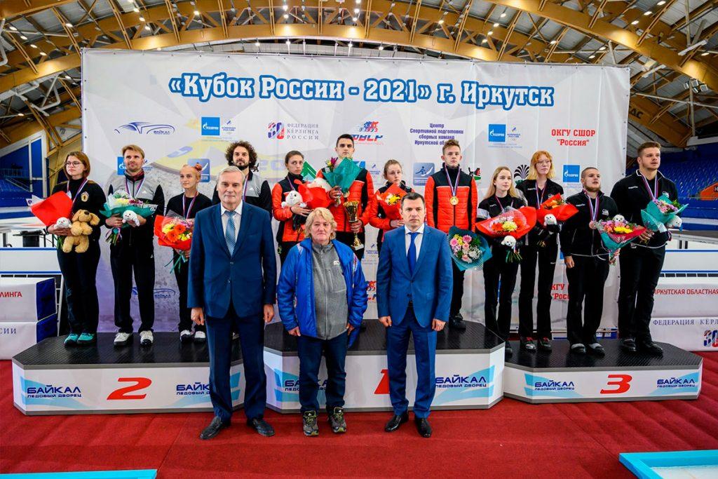 Команда Приангарья выиграла Кубок России по кёрлингу