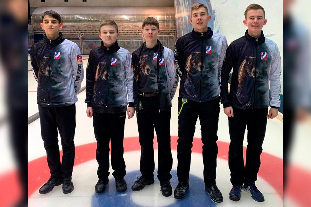 Спортсмены Приангарья примут участие в чемпионате России по кёрлингу среди мужских команд