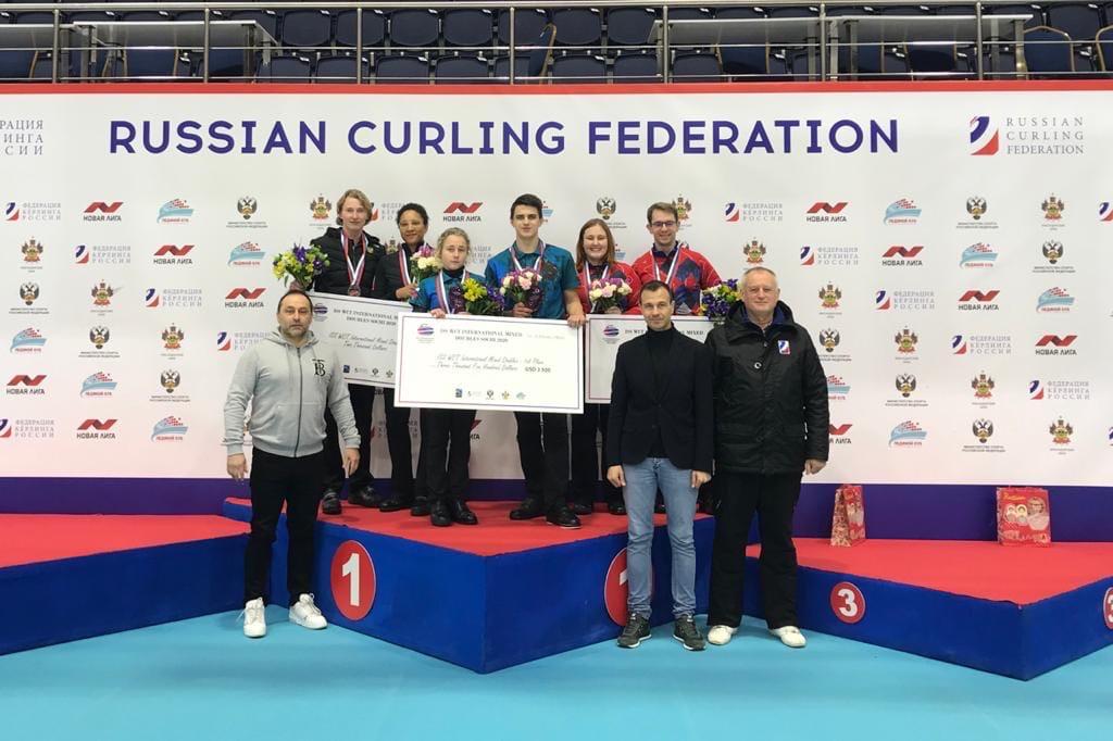 Иркутские спортсмены одержали победу на международном турнире по кёрлингу в Сочи