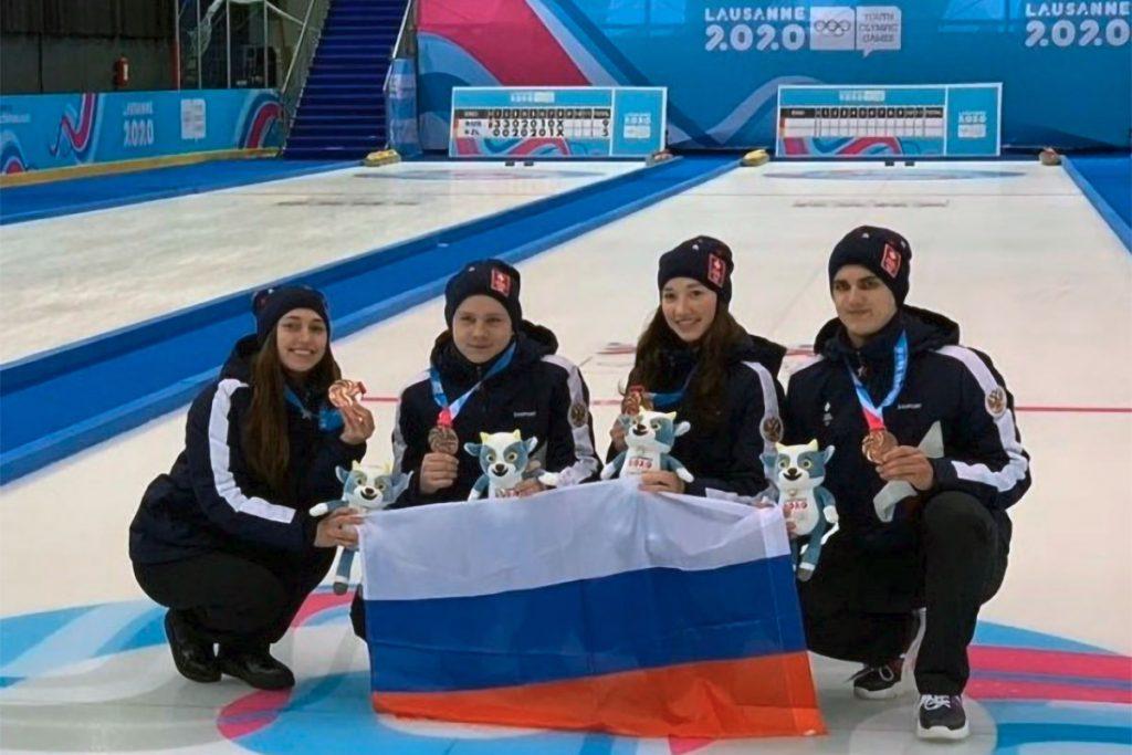 Иркутские спортсмены завоевали бронзовые медали на соревнованиях по кёрлингу на Зимних юношеских Олимпийских играх