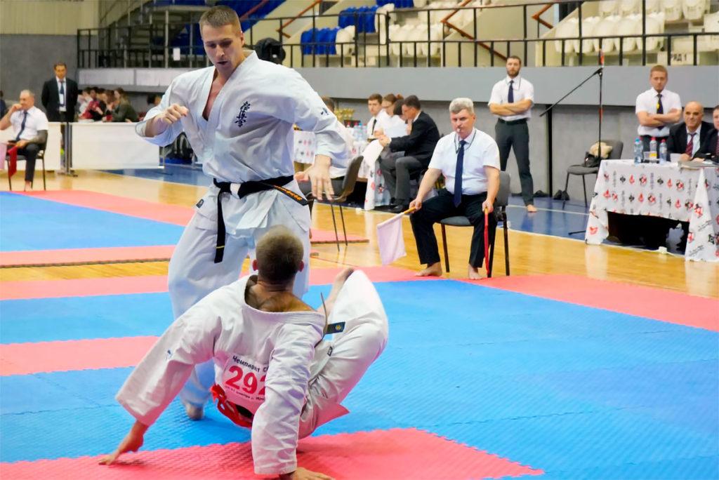 Спортсмены Иркутской области успешно выступили на чемпионате и первенстве Сибири по киокусинкай
