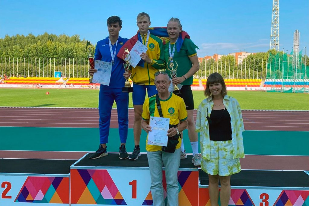 Пять медалей выиграли легкоатлеты Приангарья на финальных играх пятой летней Спартакиады молодёжи России