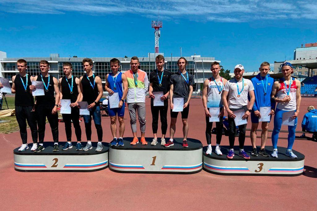 Спортсмены Иркутской области достойно выступили на первенстве России по лёгкой атлетике в Челябинске
