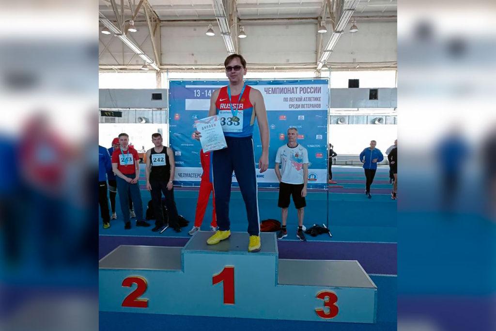 21 медаль завоевали спортсмены Приангарья на зимнем чемпионате России по легкой атлетике среди ветеранов