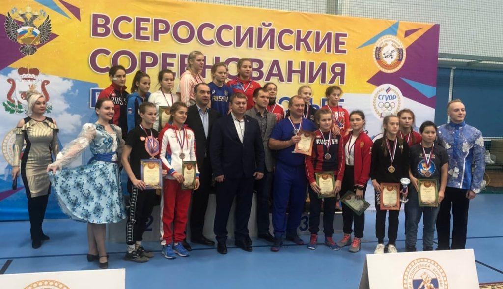 Лидия Селянгина заняла третье место на всероссийских соревнованиях по вольной борьбе среди девушек до 18 лет