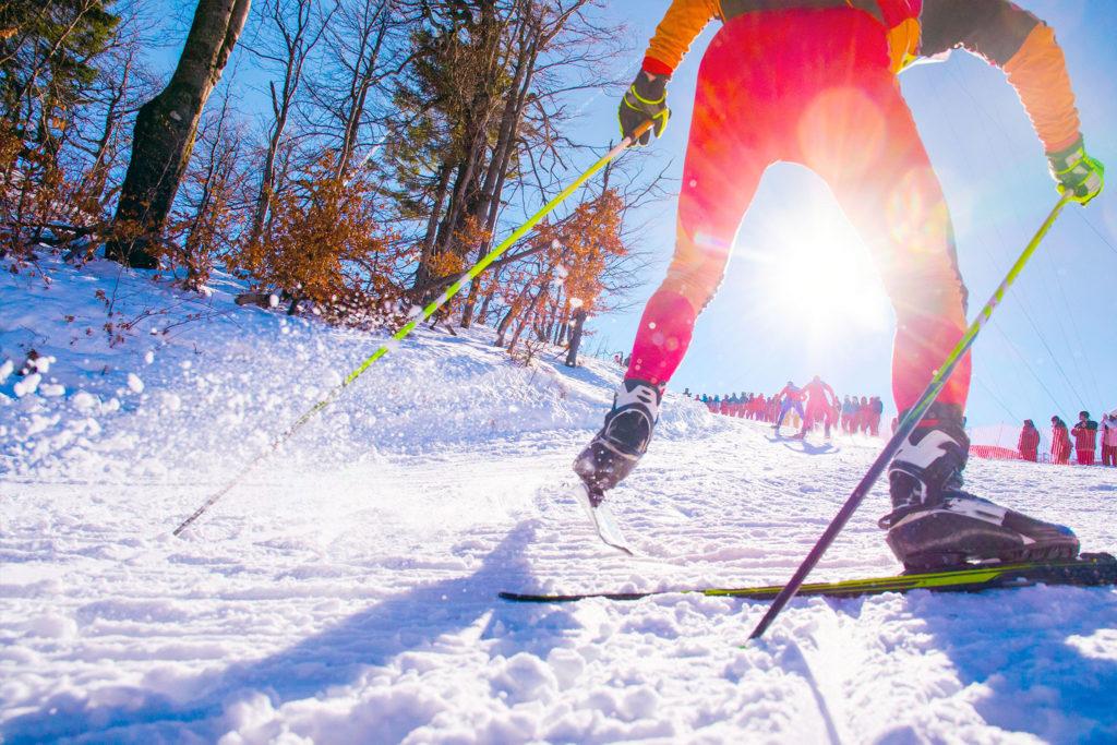 В Иркутске прошли областные соревнования по лыжным гонкам среди слабослышащих