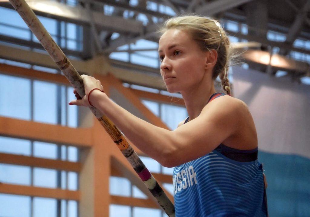 Алёна Лутковская завоевала серебряную медаль в прыжках с шестом на всероссийских соревнованиях