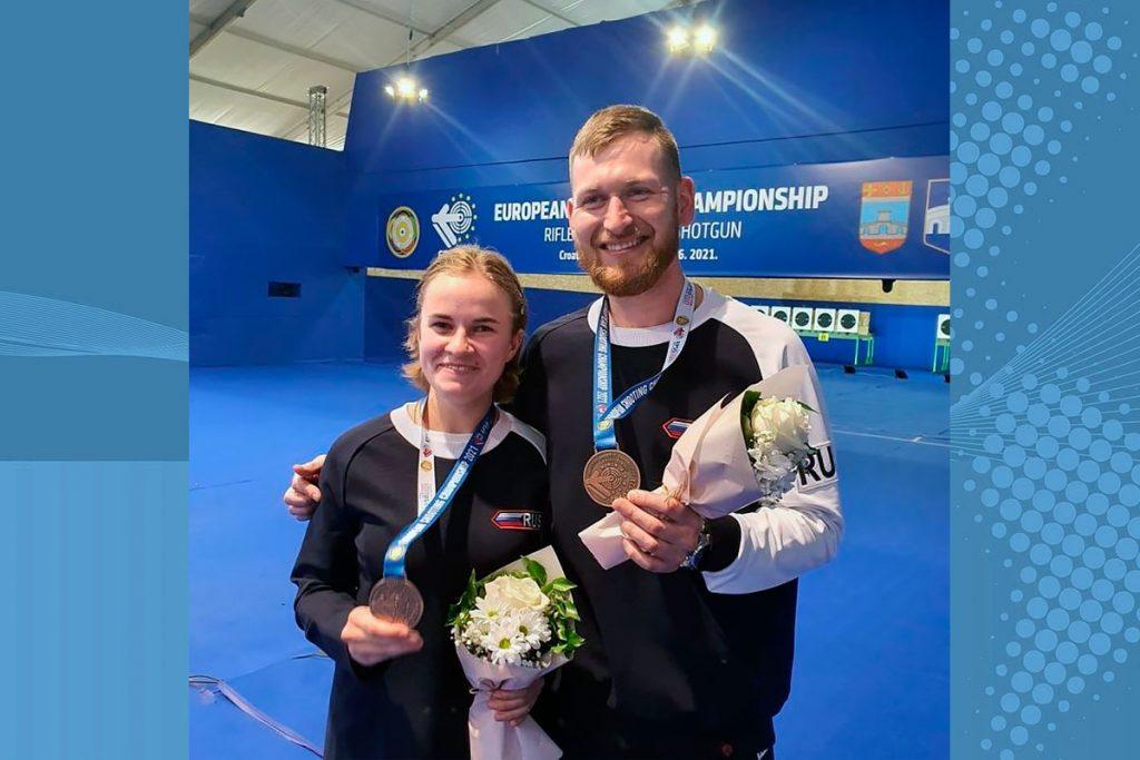 Бронзовую медаль завоевала иркутская спортсменка Надежда Колода на чемпионате Европы по пулевой стрельбе