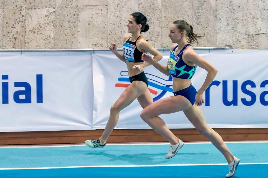 Ольга Родиошкина заняла второе место на чемпионате России по легкой атлетике в Москве