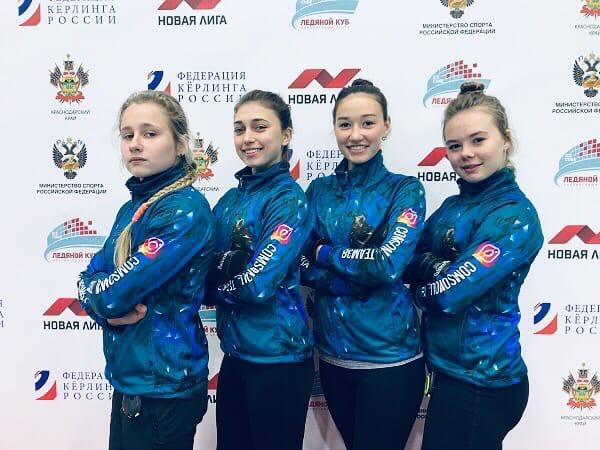 Иркутянки завоевали второе место на первенстве России по кёрлингу среди девушек